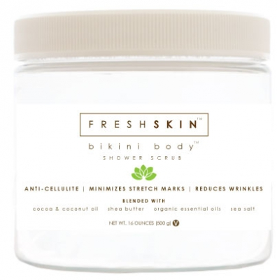 Cellulite Skin Lotion and Body Scrub