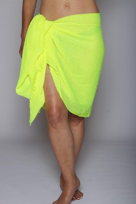 2 in 1 Sarong (Lemon)