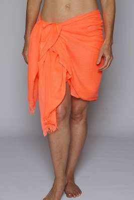 Tangerine Orange Sarong